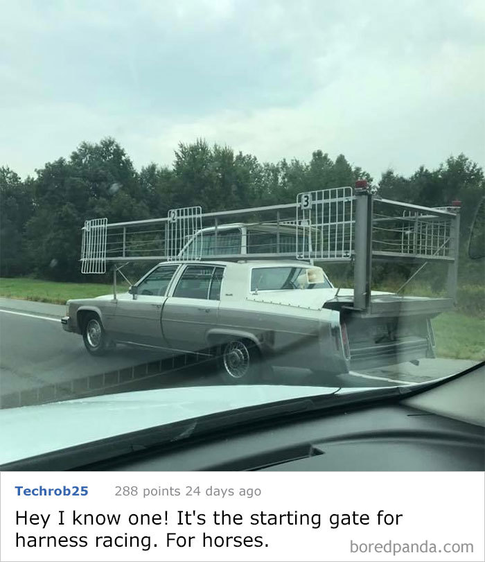 Seen In Ohio. Obviously A Car...but Does The Top Have A Purpose?