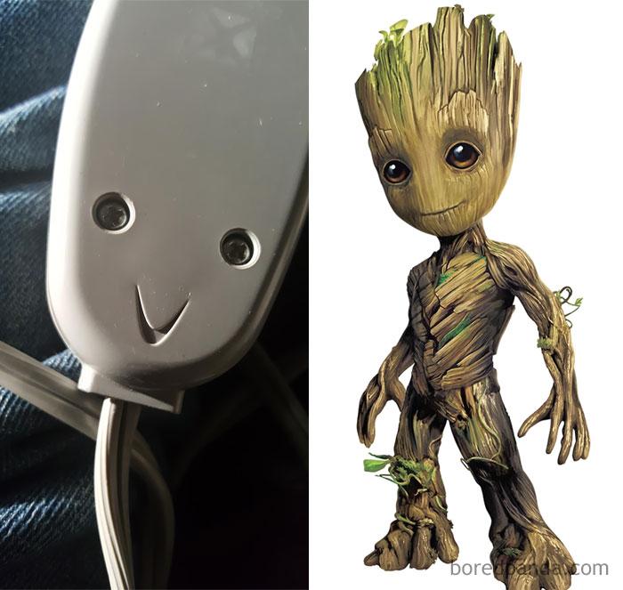 Es como Groot