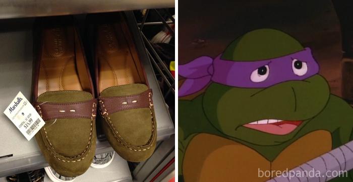Zapatos de tortuga Ninja