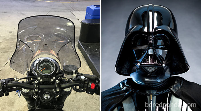 The Soul Of Darth Vader Lives In My Windscreen