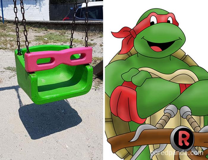 This Looks Like Raphael Teenage Mutant Turtle