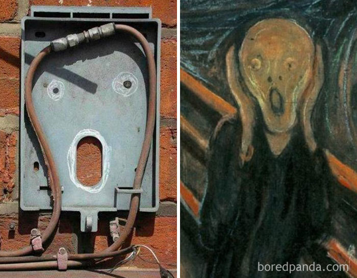 This Electric Cable Looks Like Famous Edvard Munch's Painting The Scream