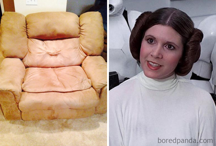 Princess Leia Really Let Herself Go