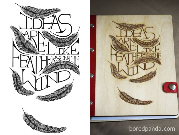 Etsy Shop Owner Using Belandkal Artwork Without Permission On Their Laser Etched Products. The Art Itself Is Pretty Ironic In This Case