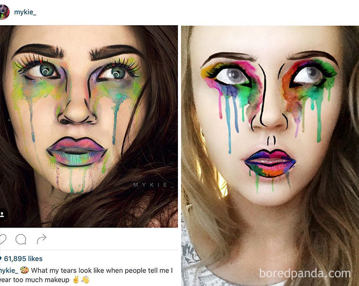 Snapchat Accused Of Stealing Make-Up Artist's Work For Selfie Filters. They Later Admitted To This Being An Issue After 3 Other Artists Were Copied