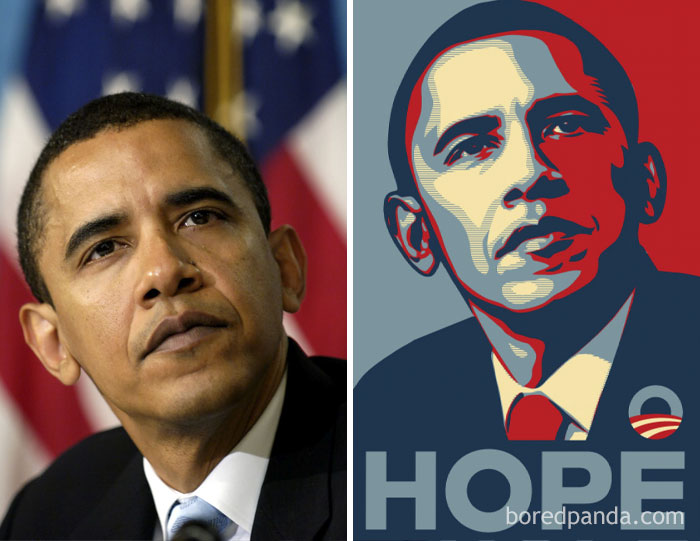 Artist Shepard Fairey Used A Picture Of B.Obama For His Poster Without A Permission Of Photographer Mannie Garcia Who Took The Picture