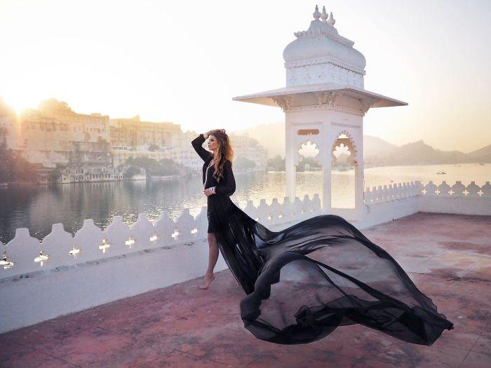 Sunrise In Udaipur, India