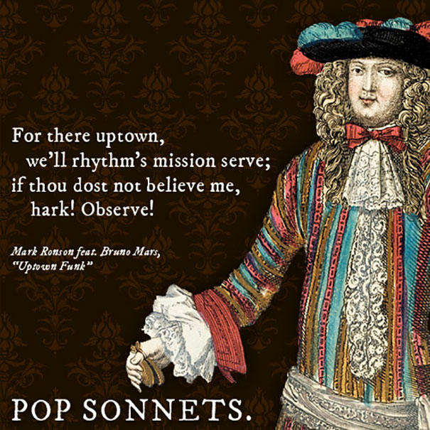 Pop Songs Sonnets