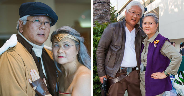 Retired Couple Win Internet's Hearts With Their Epic Cosplay Skills
