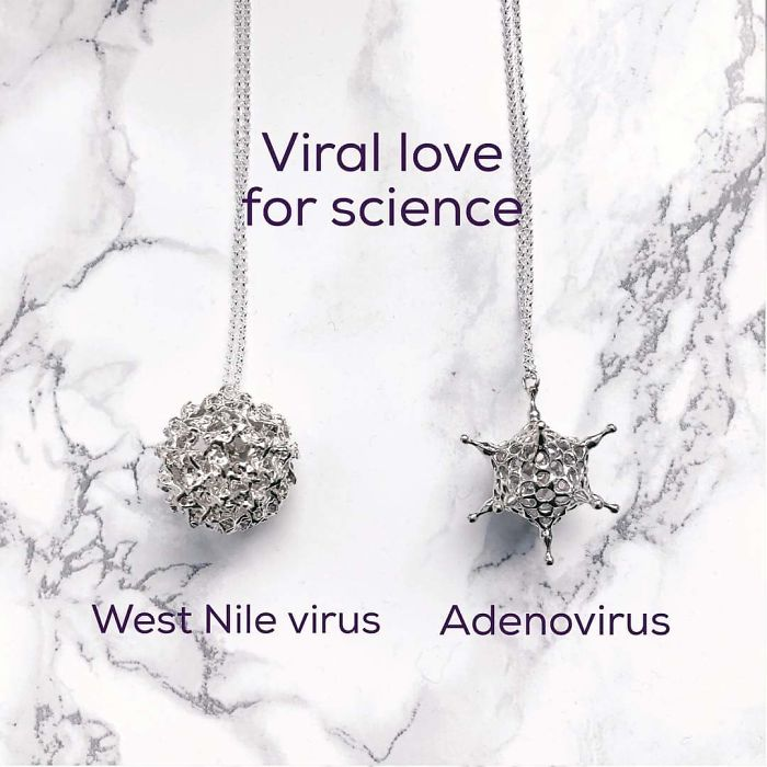 Viruses Necklace