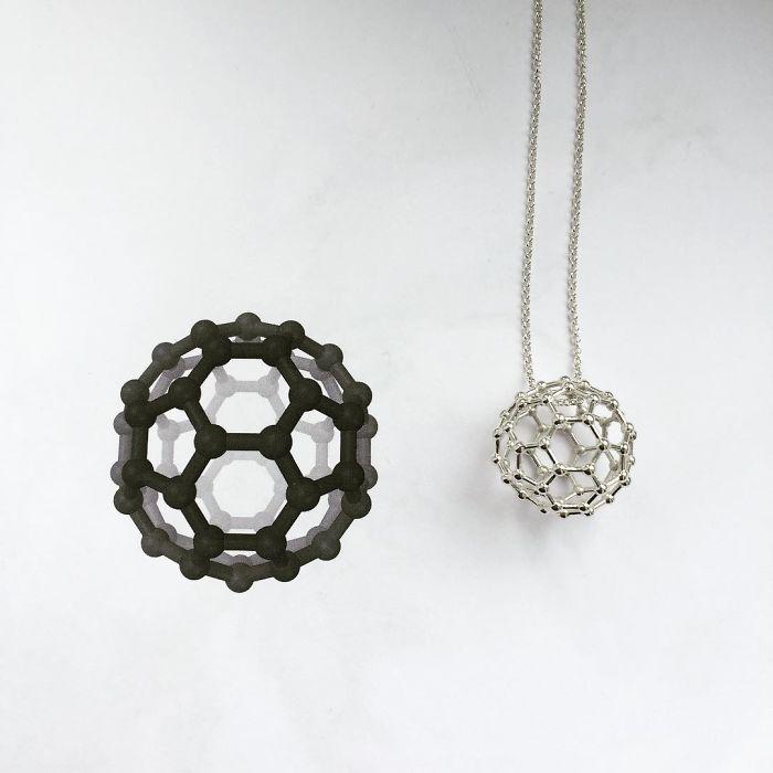 Buckminsterfullerene Necklace