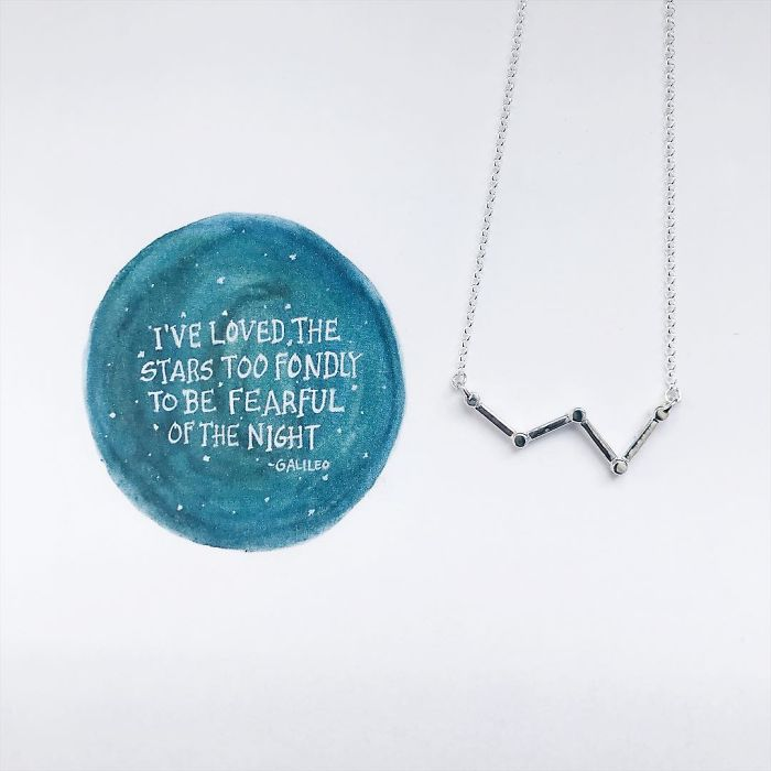 Cassiopeia Star Necklace