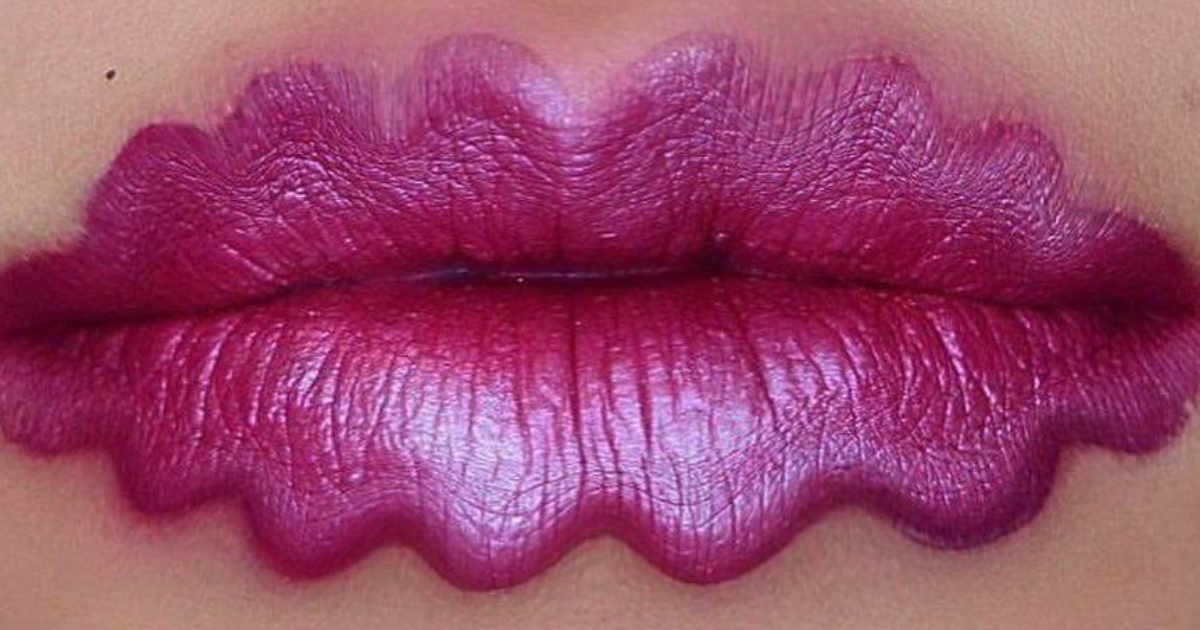 Squiggly Lips Are A Thing Now And The Pics Will Make You