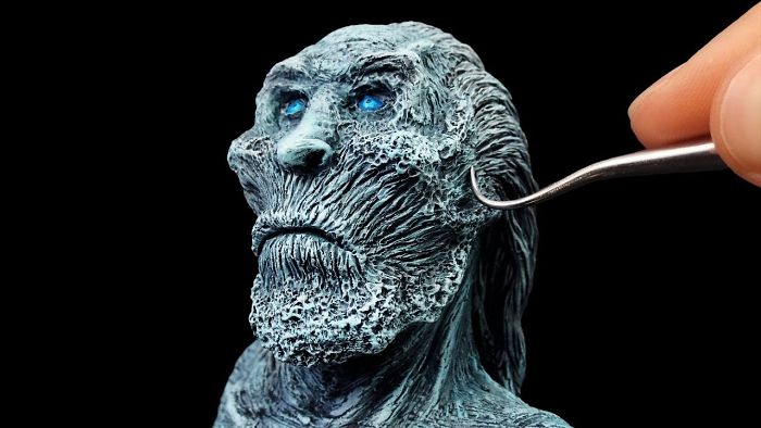 I Made A White Walker From Game Of Thrones