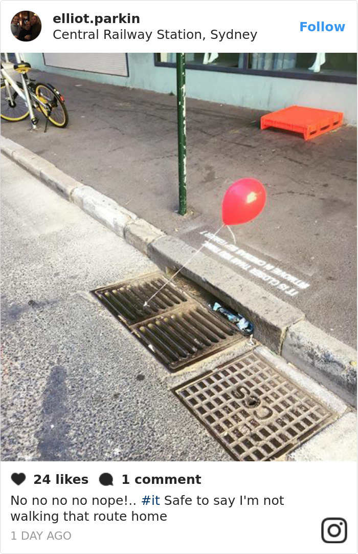People In Sydney Are Creeped Out By Red Balloons That Suddenly Appeared Around The City