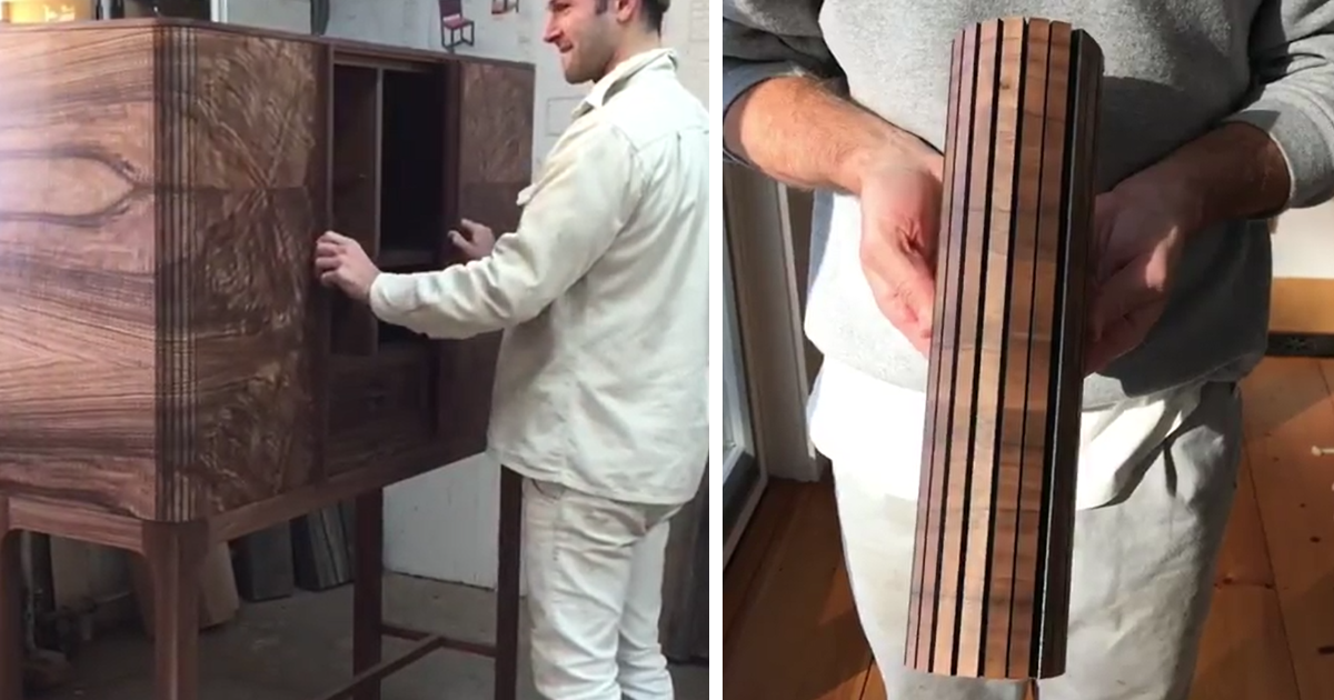 The Way These Cabinets Open And Close