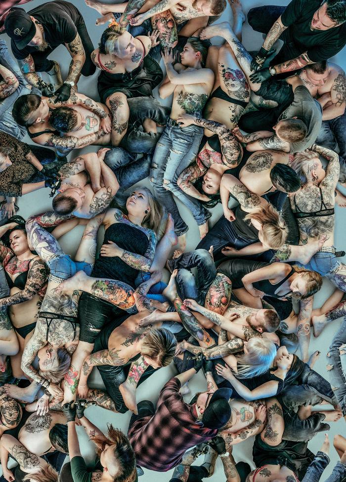 I Turned 25+ Tattooed People Into Conceptual Art