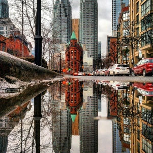 I Capture The Hidden Parallel Worlds Of Puddles With My Smartphone (New Pics)