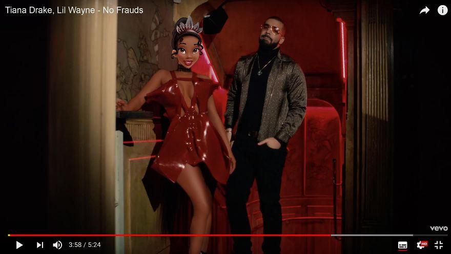 Tiana As Nicki Minaj - No Frauds