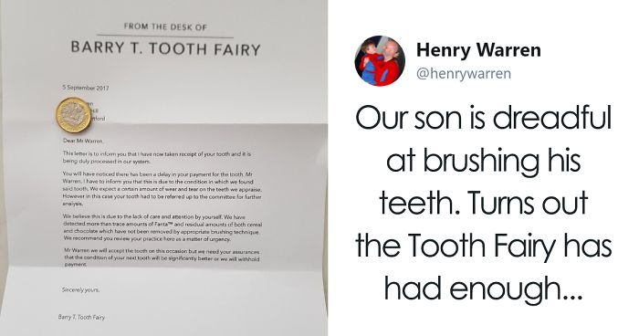 Parents tired of their son not brushing his teeth come up with this user submission ccuart Images