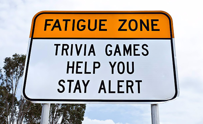 Australia Uses Trivia Signs To Keep Drivers Awake On Long And Boring Roads, And It's Genius
