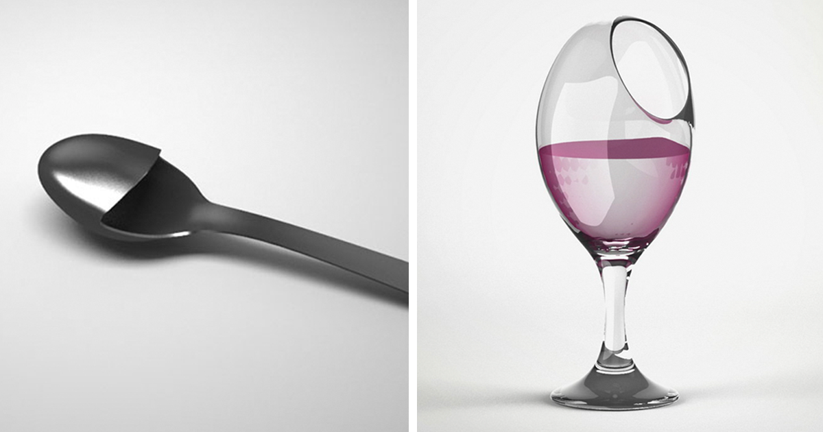 Designer creates brilliantly useless product designs for Product design