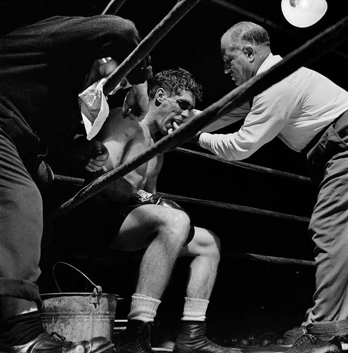 Boxer Walter Cartier, 1948