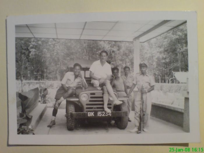 My Dad, Now 91 Years Old At The Age Of 30 , Working In Sumatra Indonesia
