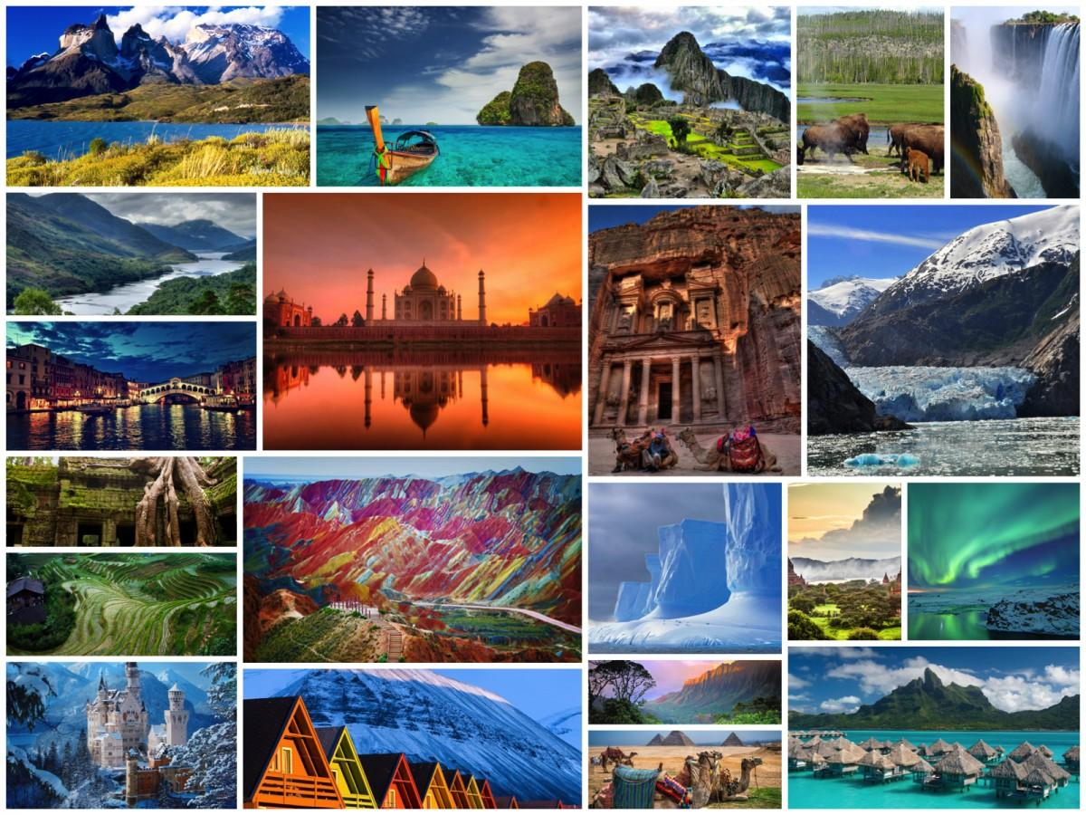 Top 10 Attractive Tourist Destinations In The World : Tours & Travels