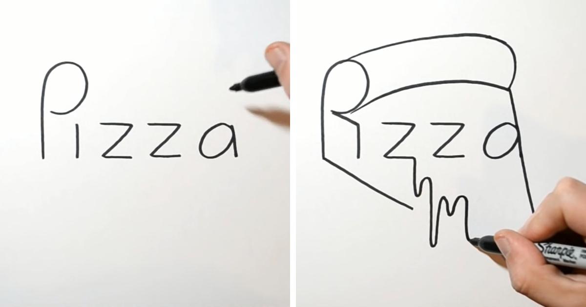 Draw Turn Word Panda Step | Book Marketing