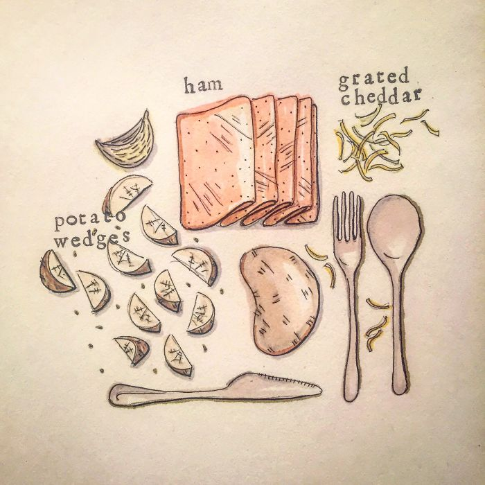Drawing My Ridiculous Recipe So They Seem To Taste Better