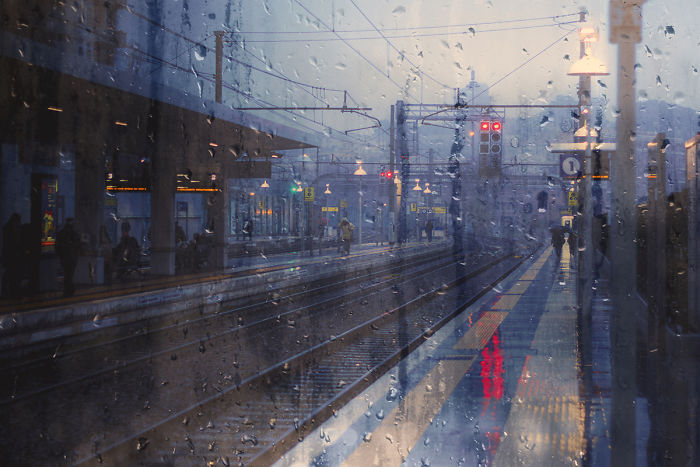 Raindrop Blues Project: I Create Wet Pictures To Dip The Viewer In A Sort Of Oneiric Reality