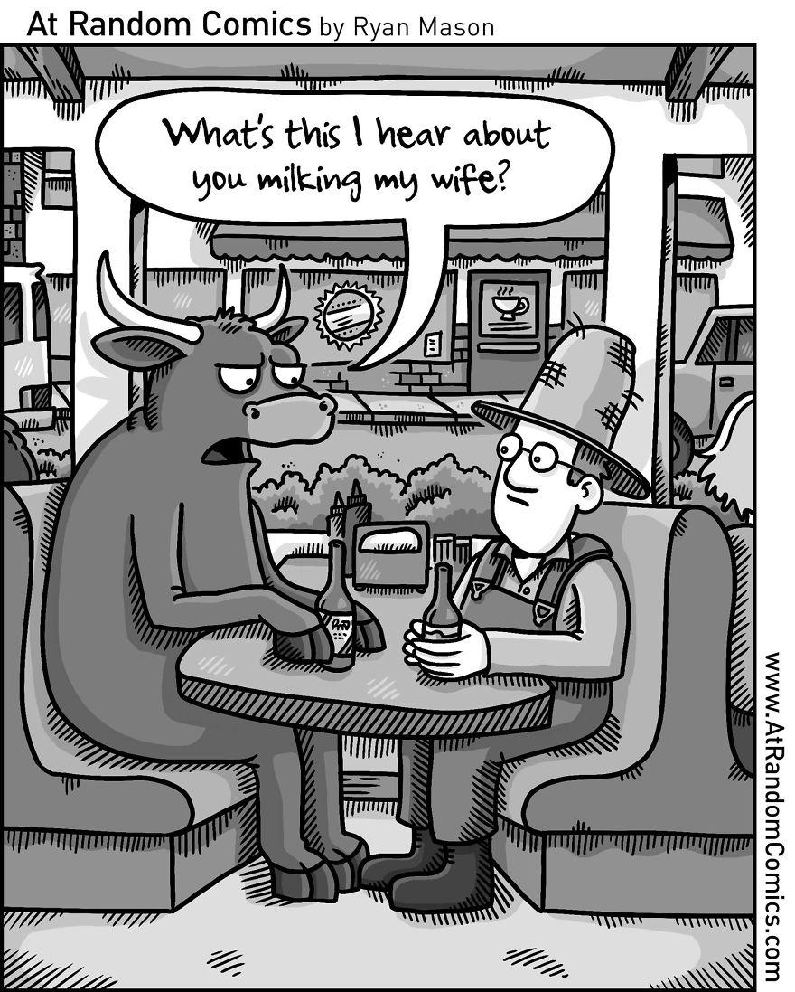 10+ Hilarious Comics From An Aspiring Cartoonist