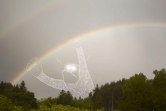 Bending Rainbows