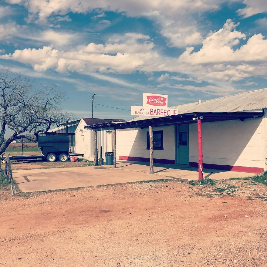 The Gas Station From The Texas Chainsaw Massacre
