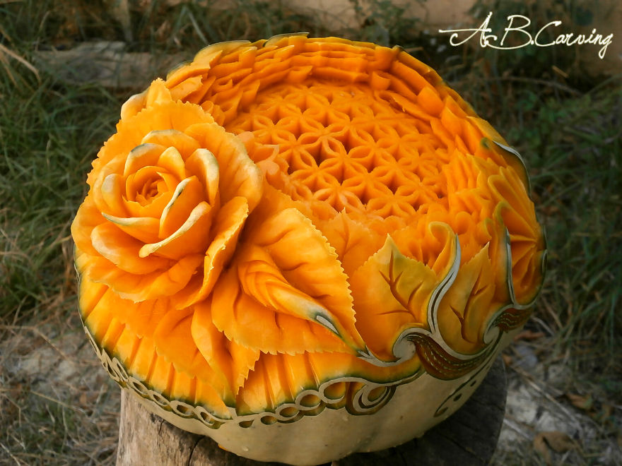 26 Alternative Halloween Pumpkins That I Carved To Show They Don't ...