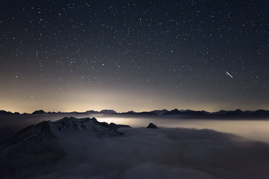 Night Above The Clouds