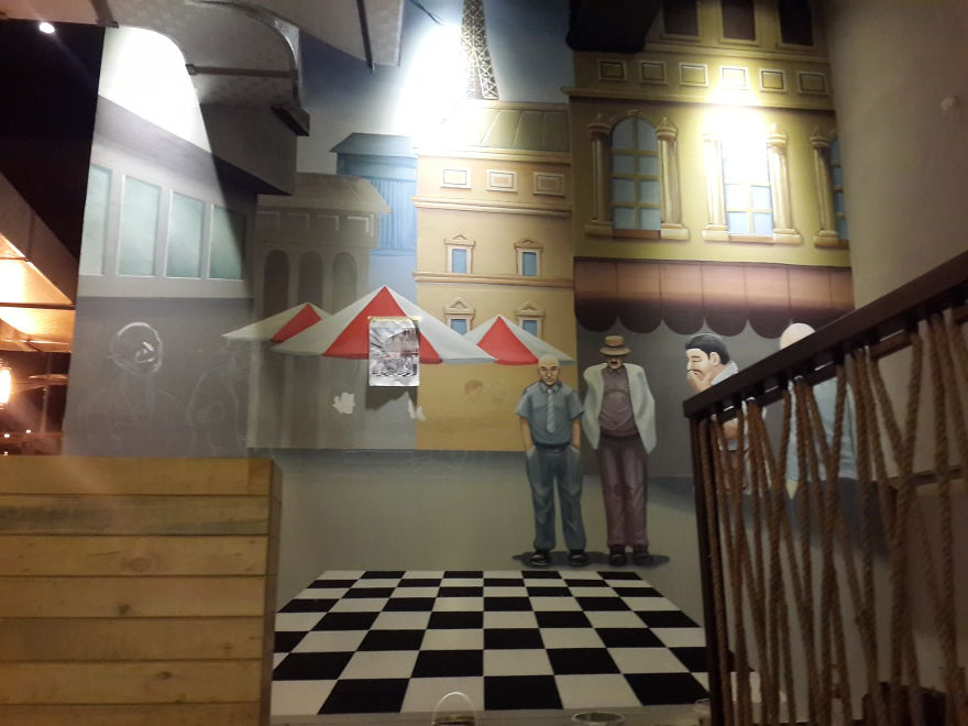 I Created Several Murals To Decorate Suan's Bakery