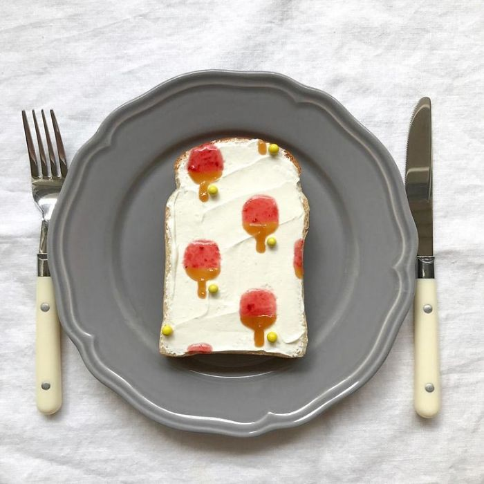 Culinary Designer Makes Real Works Of Art With Toast Making The Breakfast Wonderful