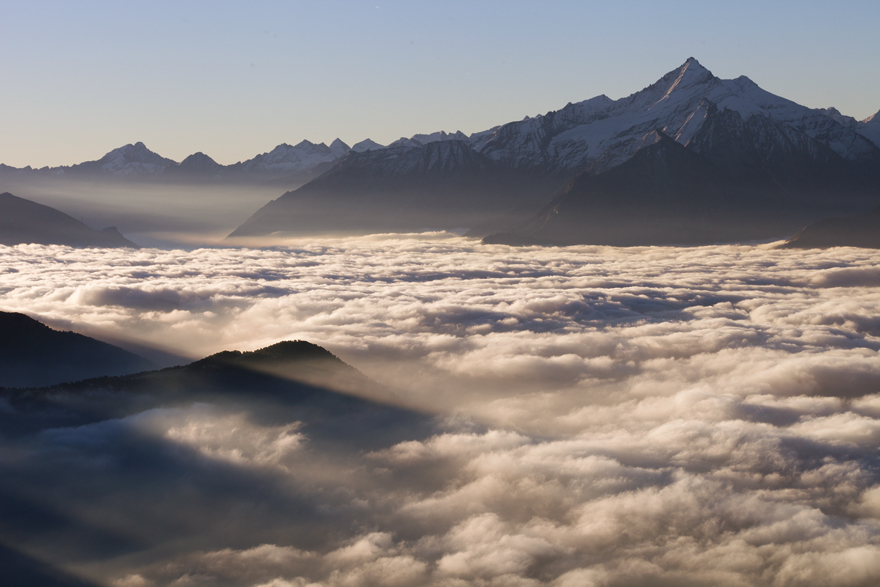 Above A Sea Of Clouds