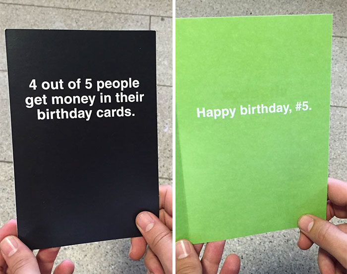 Funny Unexpected Greeting Cards