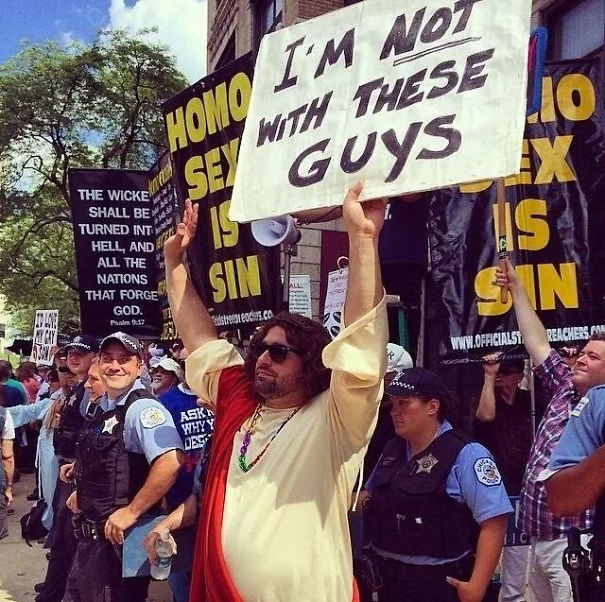 From Sunday's Gay Pride Parade In Chicago