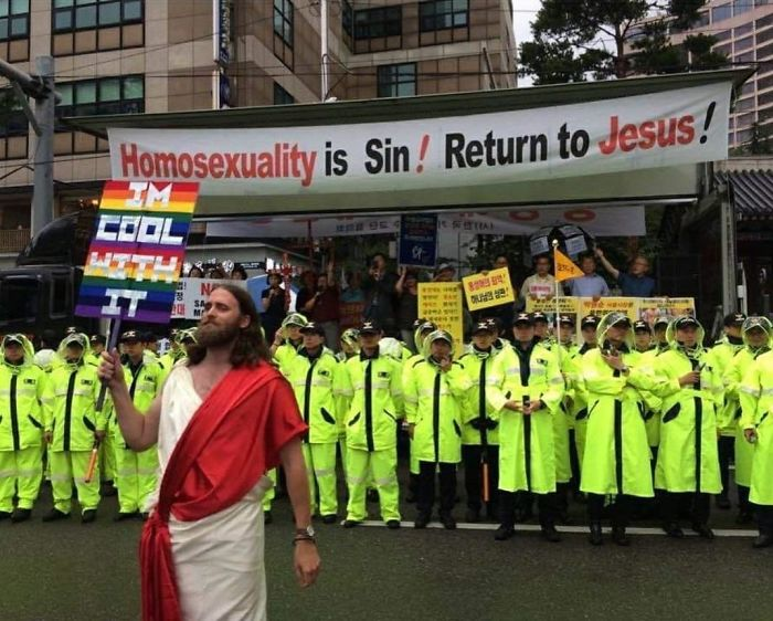 Jesus Is Cool With It