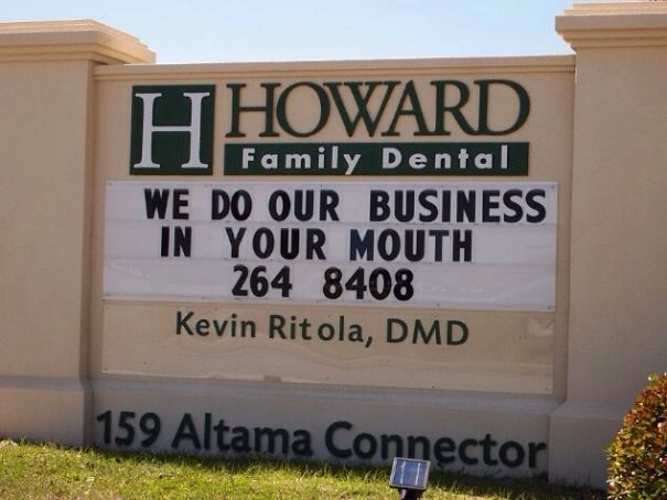 I Have A New Dentist Now