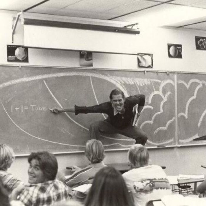 My Dad Teaching Math In Southern California (Late 70's/Early 80's)