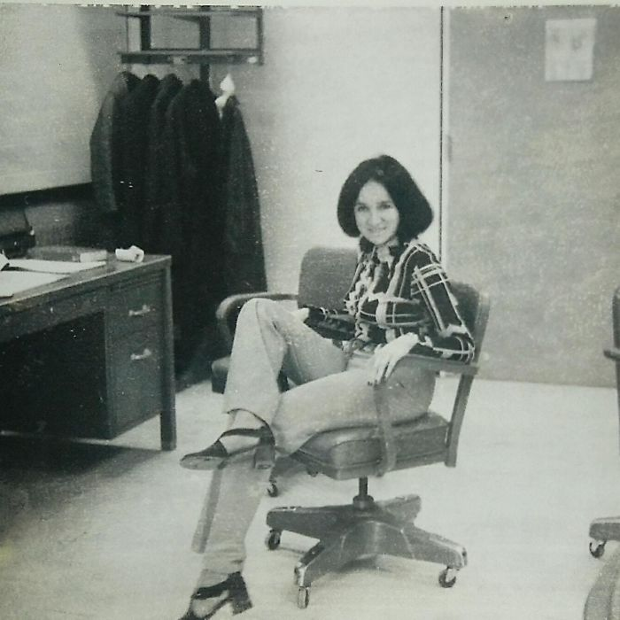 My Mom Working At Nasa, 1974