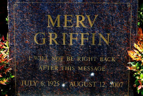 Merv Griffin Grave