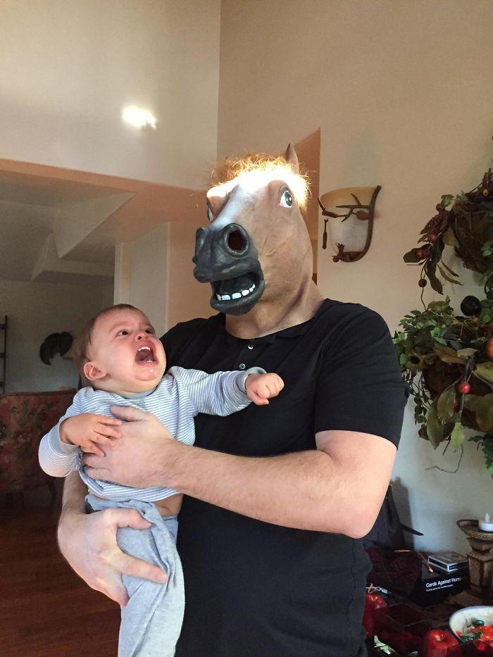 Hoy llevé a mi hijo a conocer a su tío Joe