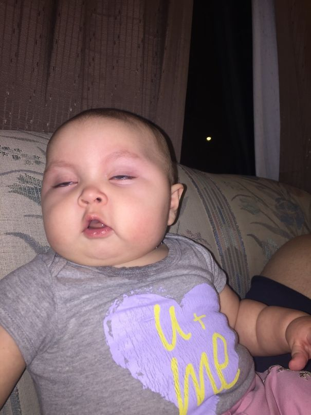 "Babysat My Niece And Sent This Pic To Her Mom With The Message ""It's Cool I Got Her Baked Right?"""