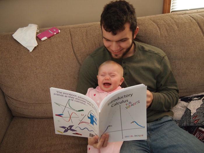 Intentando enseñarle cálculo a mi sobrina